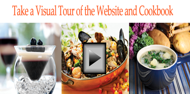 Visual Tour of the Website and Cookbook